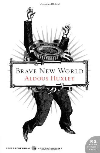 """""""Brave New World"""" is about a government that is conditioning and drugging people to convince them they're happy. Set in dystopian London in 2540 AD, the book explores themes of commodification, psychological manipulation, developments in reproductive technology, and the power of knowledge."""