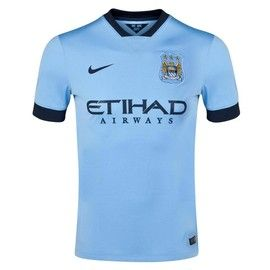 Manchester City Home Jersey 2014 – 2015 is a great soccer jersey and fitting for the premier league champions get yours today at Soccer box http://www.soccerbox.com/51009