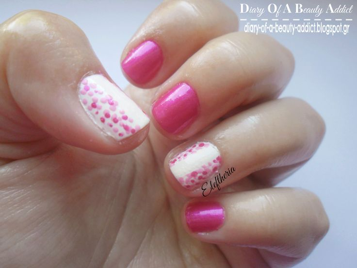 Simply Nails ▎❝Spring Fuchsia❞: http://diary-of-a-beauty-addict.blogspot.gr/2014/05/simply-nails-spring-fuchsia.html