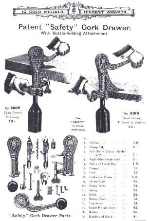 Corkscrews Online - Antique & Vintage Corkscrews for sale - Bar Screws