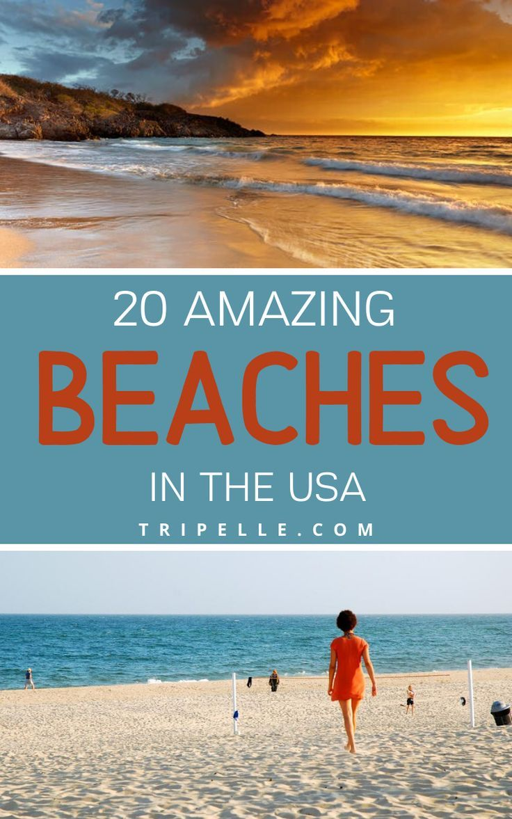 20 Best Beaches In The Usa Beach Vacation Spots Best Beaches To Visit Vacations In The Us
