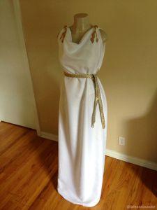 DIY Greek god or goddess costume.