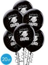 Black Latex Graduation Balloons – Party City