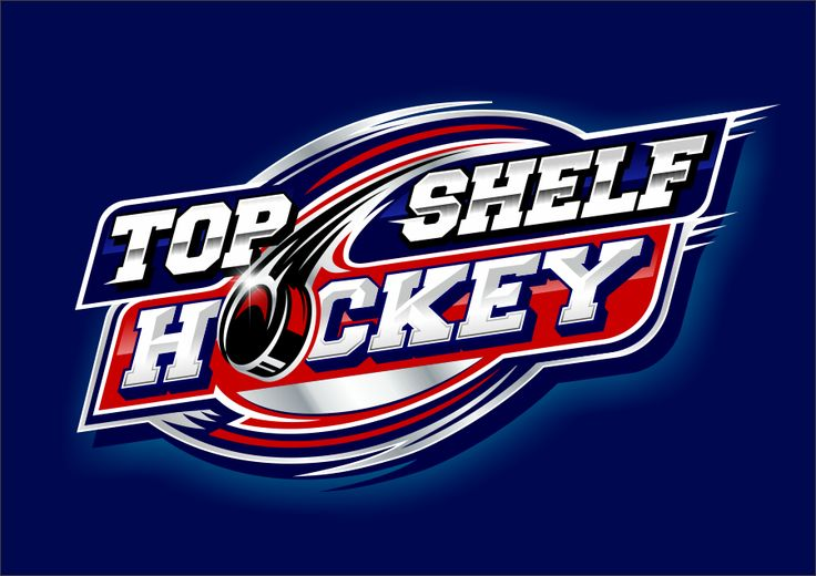 TOP SHELF HOCKEY- LOGO DESIGN-  We sell Hockey Tape, Hockey Laces, Hockey Pucks and More! by D!