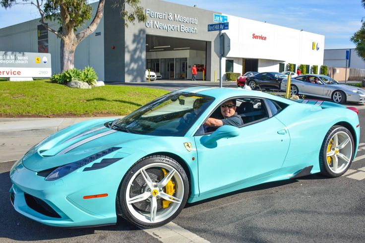 blue with white stripes ferrari 458 speciale anyone we know at least the ladies will love it photo via ferrari of newport beach pinteres - Ferrari 458 Blue And White