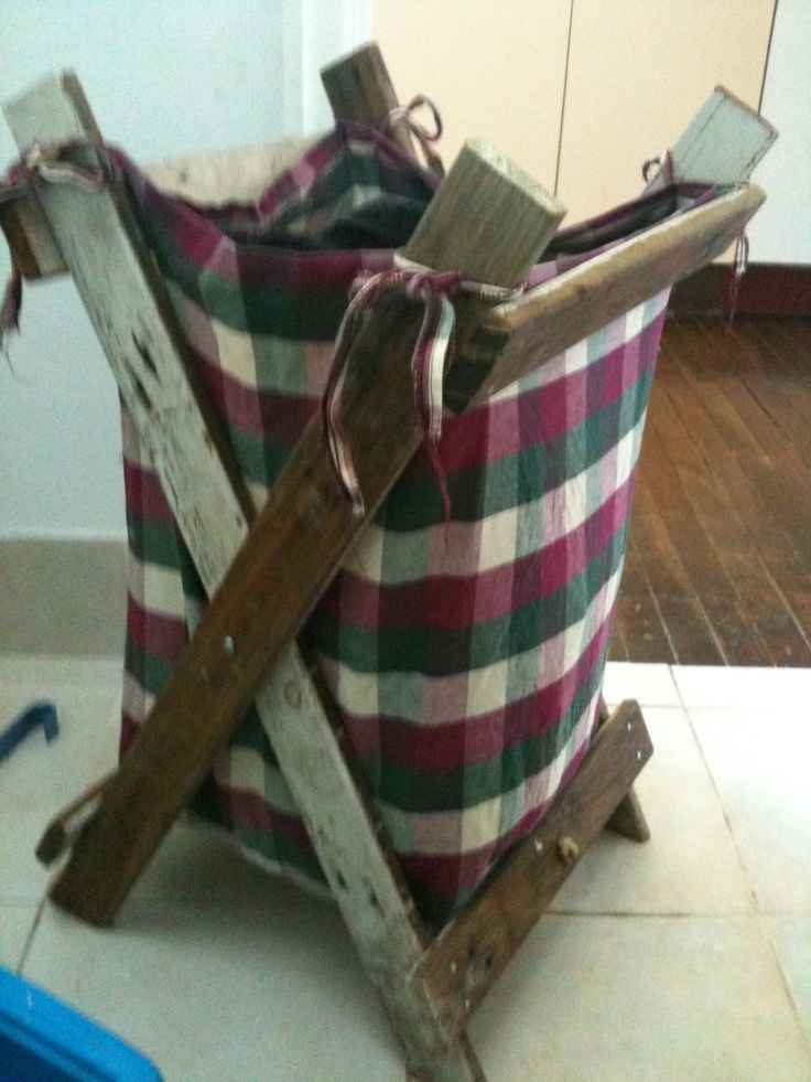 Washing Basket- Made From Recycled Materials- Sept 2012