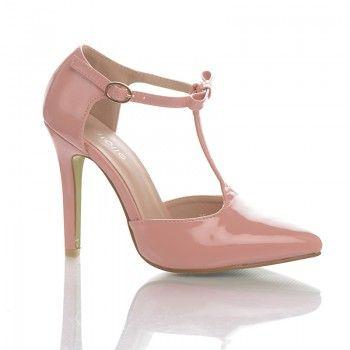 Pantofi Rosabela - Roz Pantofii Rosabela de culoare roz sunt un accesoriu modern si feminin, care va sculpteaza frumos forma piciorului, datorita tocului de numai 10 cm. Acest pantofi se asorteaza foarte frumos cu o pereche de jeansi prespalati, dar pot fi purtati cu succes si la o rochie de vara pana la genunchi.