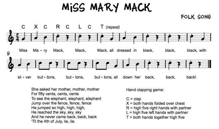 Best 25 Miss Mary Mack Ideas On Pinterest