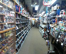 Time Travelers Comics, Cards and Collectibles has over 4,000 sq ft of comics plus comic book, tv and movie related items.  They buy, sell & trade anything geek! #comics #berkley #geek