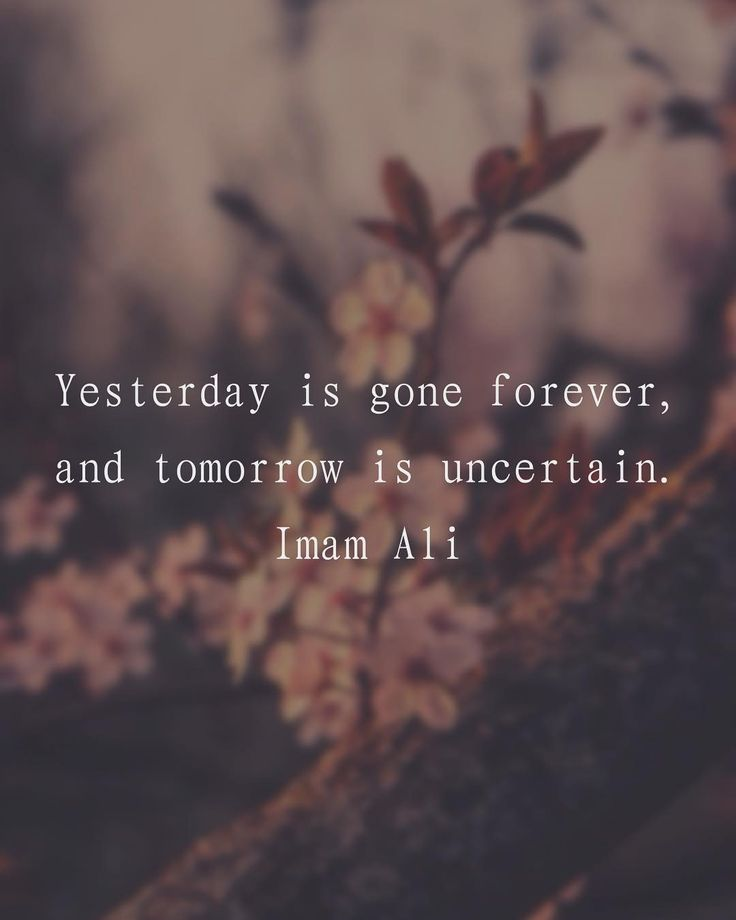 "217 Likes, 2 Comments - Imam Ali (@imamali__) on Instagram: ""Yesterday is gone forever, and tomorrow is uncertain."" -Imam Ali (AS) #imamali #ahlulbayt…"""