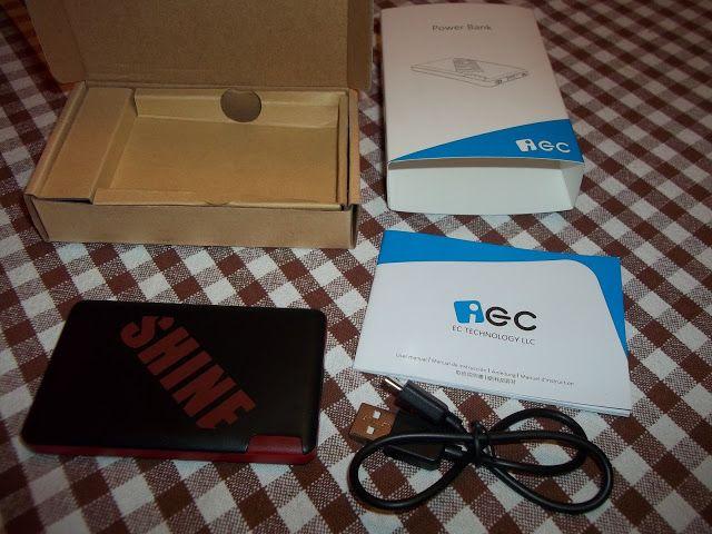 I consigli di Rocco,esperienze di ristoranti,alberghi,viaggi e dei prodotti testati: Powerbank EC Tecnology 2400 mAh