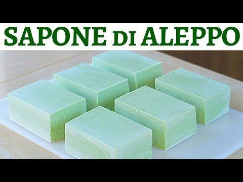 SAPONE DI ALEPPO FATTO IN CASA - Homemade Aleppo Soap - YouTube