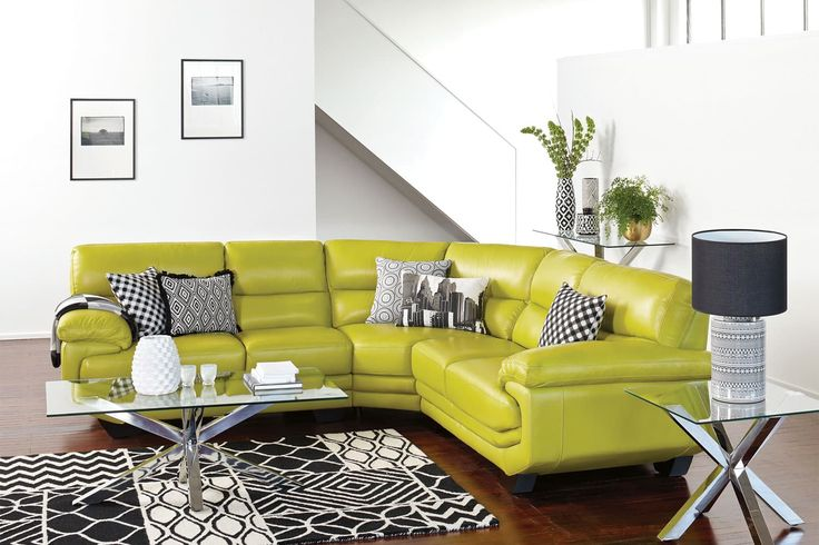 Centro 5 Seater Leather Corner Lounge Suite by La-Z-Boy