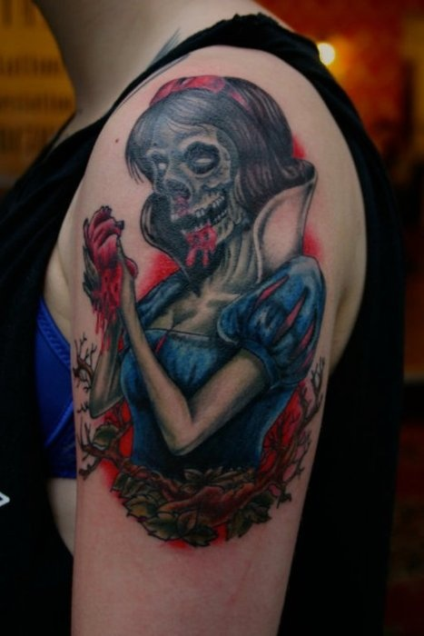 58 Best Snow White Tattoos Images On Pinterest