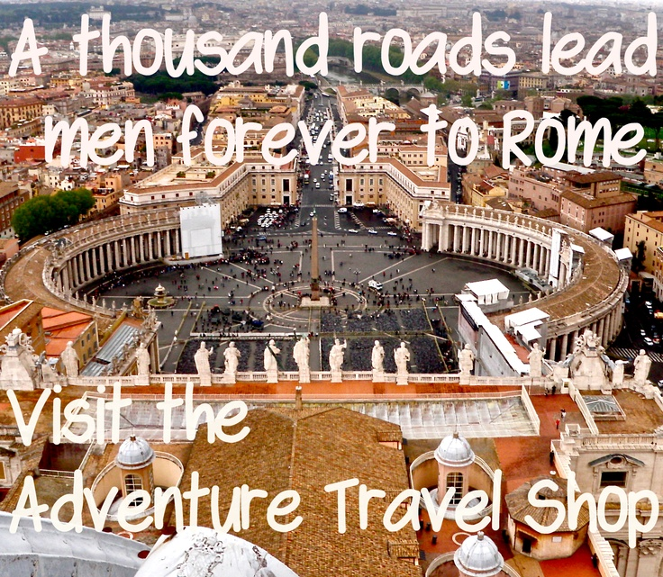 We have wonderful tours of all the great Italian cities, and leading travel companies that will take great care of you. visit us. http://www.adventuretravelshop.co.uk/adventure-holidays-europe/all-inclusive-holidays-to-italy/