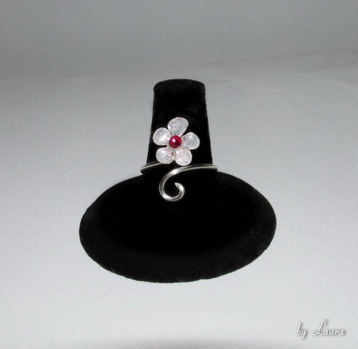 """Inel reglabil """"Floare de cireș"""", Sakura ring"""