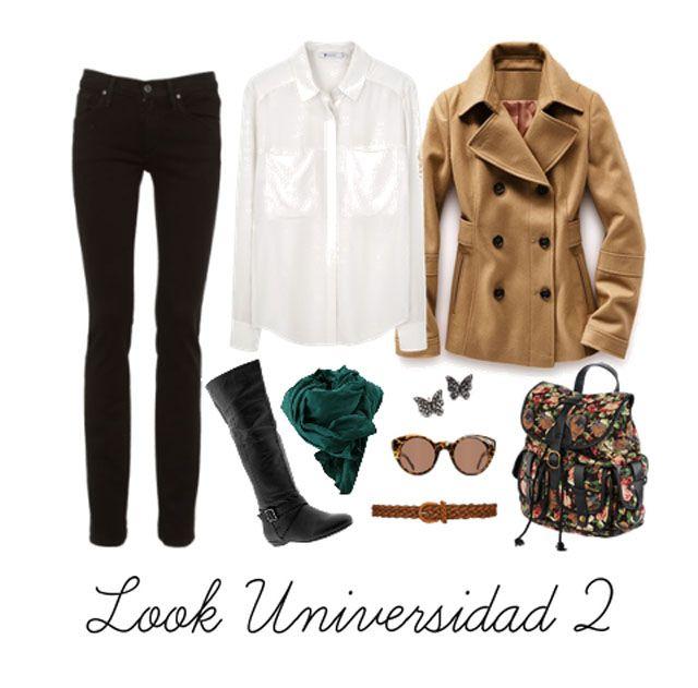 prendas básicas son el trench, la camisa blanca, el legging o jean negro y las botas negras para este frío invierno.