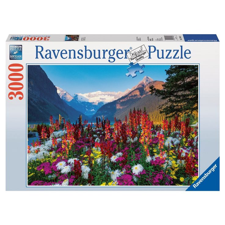 Ravensburger Flowery Mountains Puzzle - 3000 Pieces