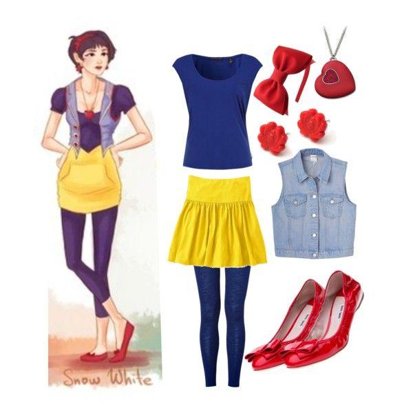 Great Halloween costume idea: Modern Day Princess 1....Snow White. Definitely doing this.