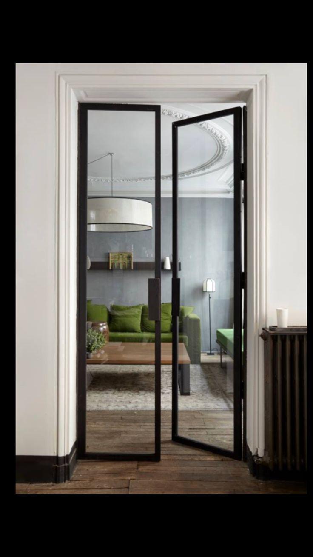 Formal dining doors