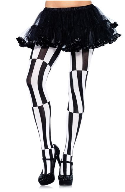Mind Games Striped Tights