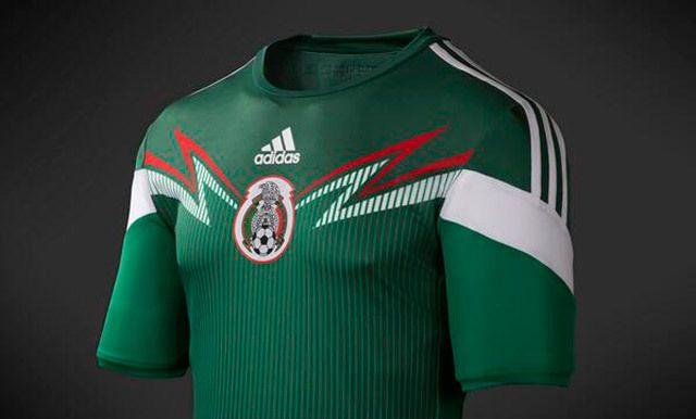 Playera de la selección mexicana en el mundial de brasil 2014