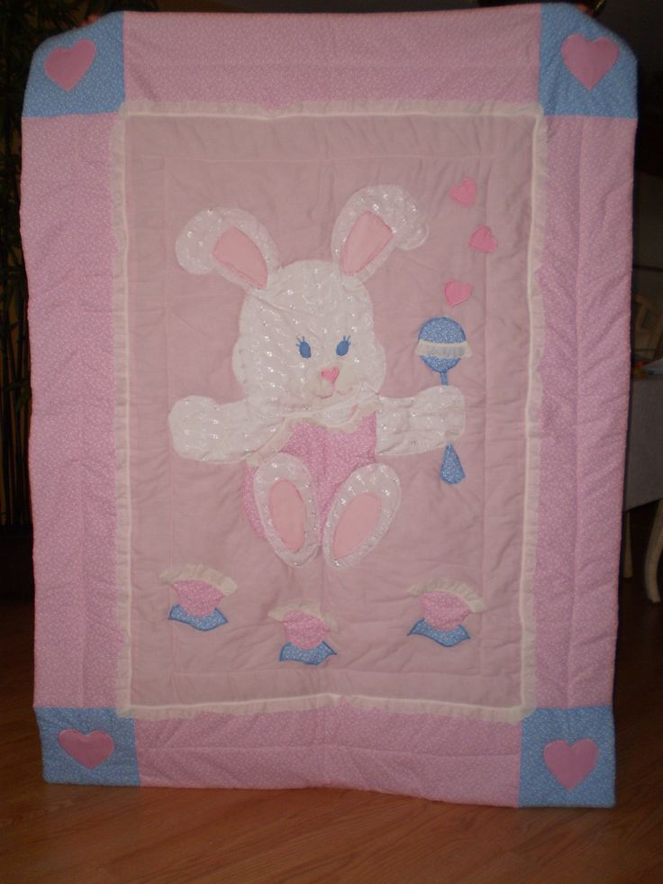 Hunny Bunny Quilt by ItzSewTime on Etsy,