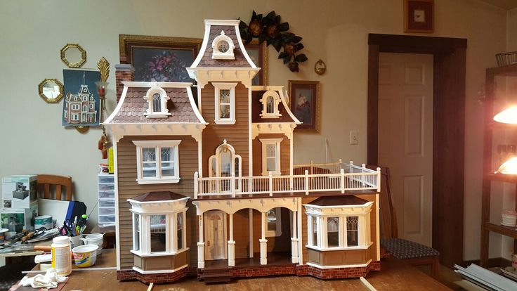 My Beacon Hill Dollhouse is almost finished. Please follow my facebook page for more miniature madness under Dollhouse Miniature Madness and Tutorials or you can follow my YouTube channel for lots of tutorials at Laurieheisler2