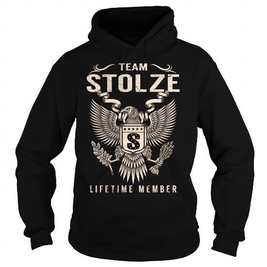 I Love Team STOLZE Lifetime Member - Last Name, Surname T-Shirt T-Shirts