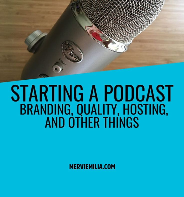 Are you thinking about starting a podcast? Here are some of the things I've learned doing a lots of research on the subject. podcasting, marketing, voice, microphone, hosting, quality, launch
