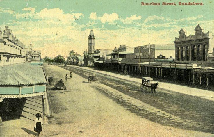 Bourbon (Bourbong) Street, Bundaberg [picture]