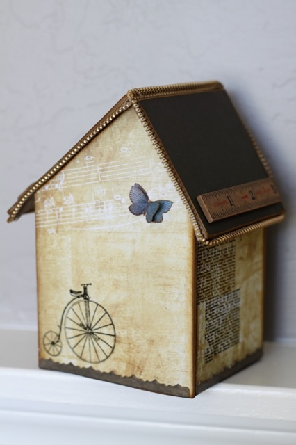 cute off-kilter roof