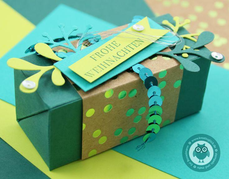 Blogparade Team Stempelwiese zum Thema Weihnachtsverpackung | Kreativglück