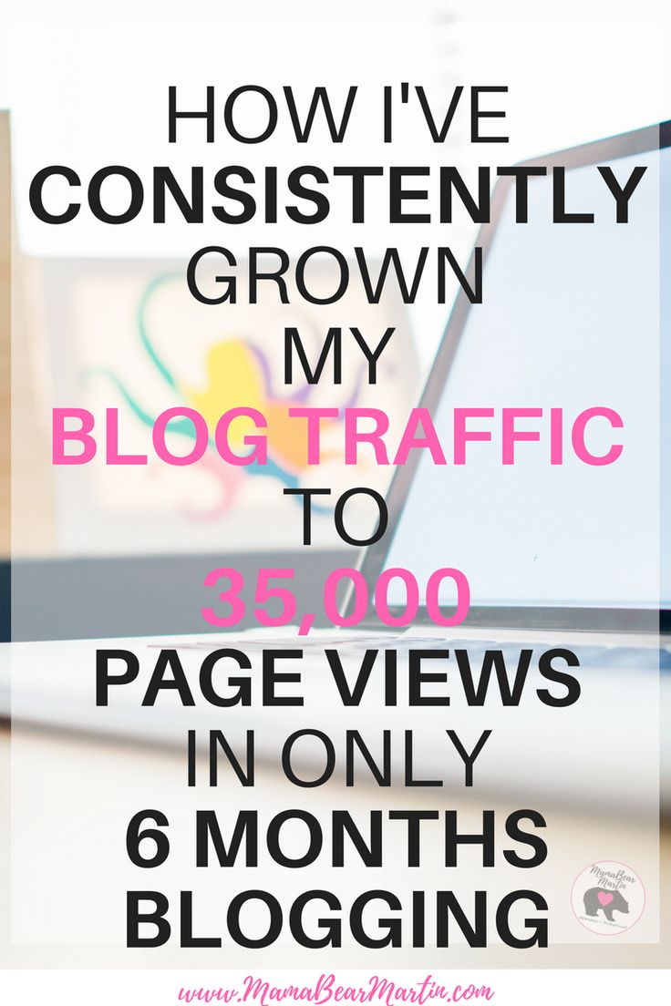 How I've CONSISTENTLY Grown My Blog Traffic To 35,000 Page Views In Only 6 Months Blogging
