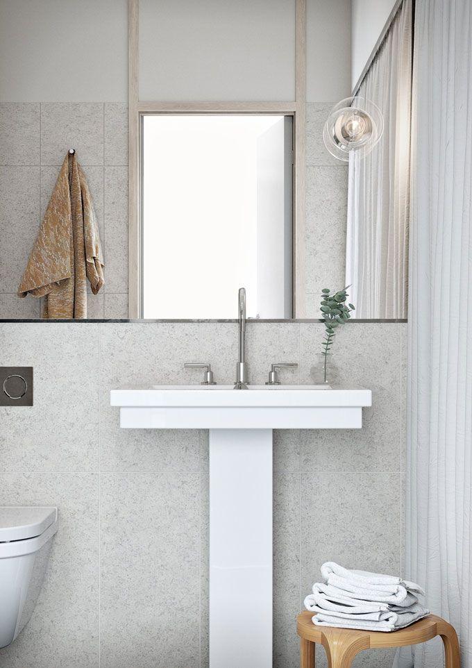 #oscarproperties Oscar Properties, Stockholm, interior, design, windows, stockholm, sweden, sea view, view, bathroom