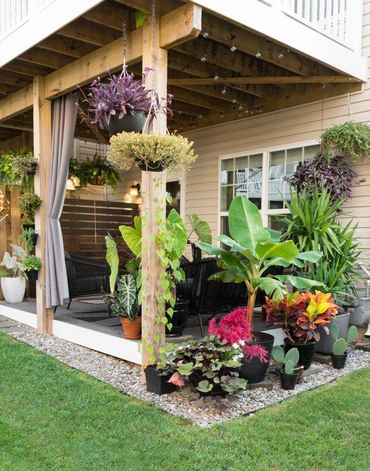 Small Townhouse Patio Ideas: My Tiny Backyard This Summer ... on Townhouse Patio Ideas id=25713