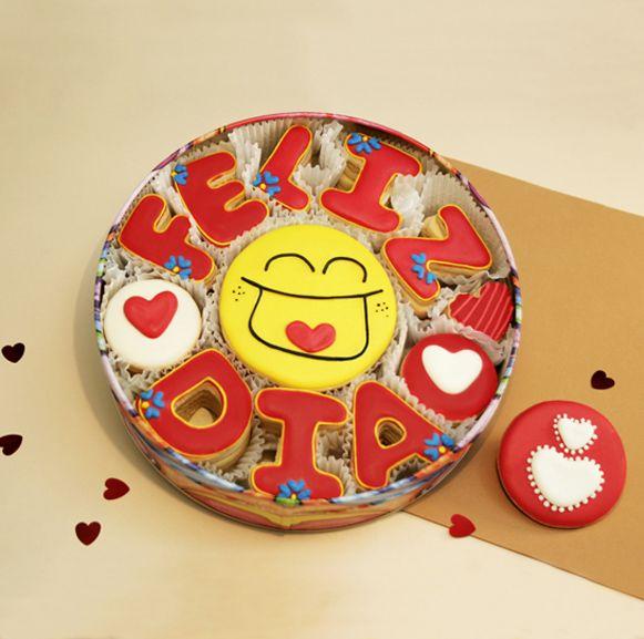#felizdia #galletaS #decoradas