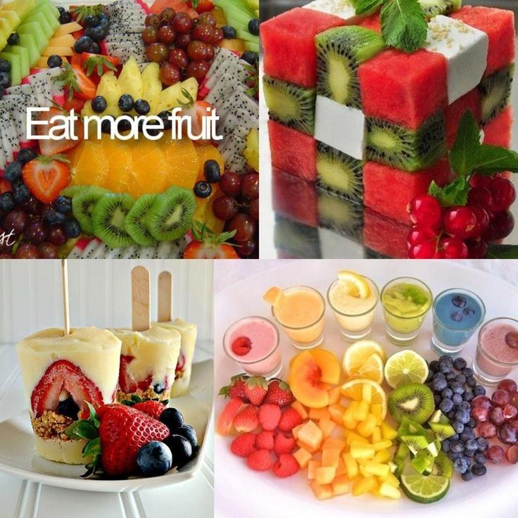 Colorful fruit ideas