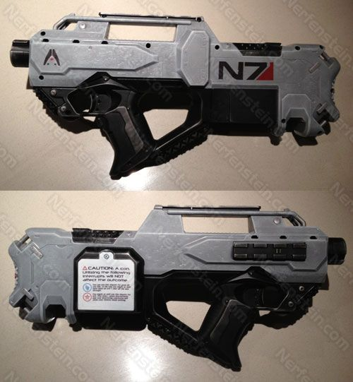 nerf mod ME3 gun mass effect 3 #gaming #videogames