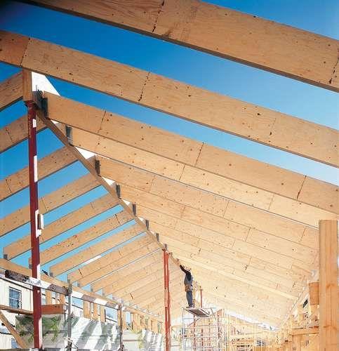 Metsä Wood's Kerto roof beams