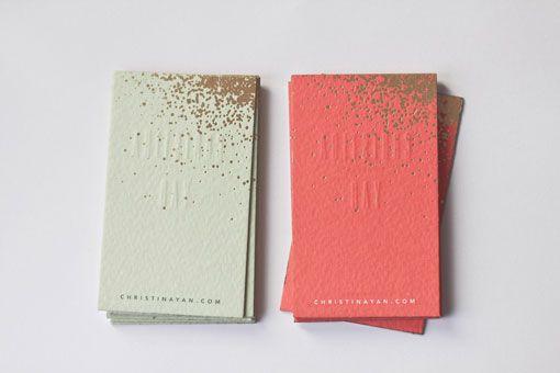 Belinda Love Lee: Christina Yan Business Cards
