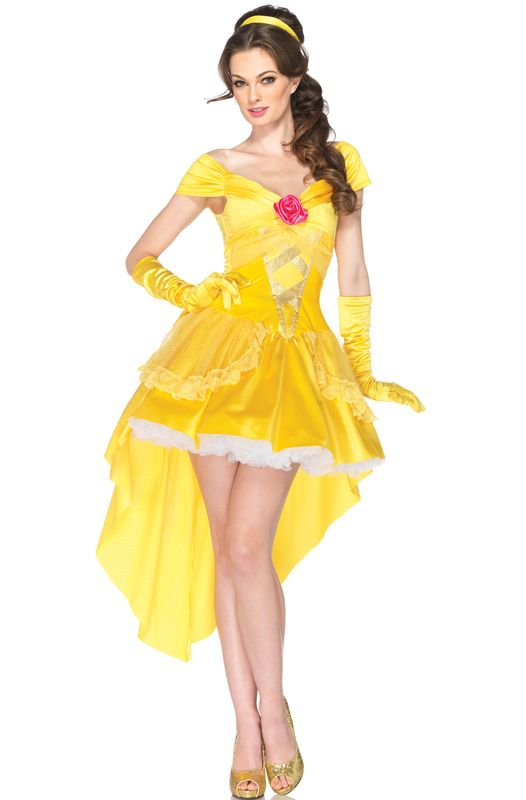 Disney Princess Enchanting Belle Adult Costume for Halloween - Pure Costumes