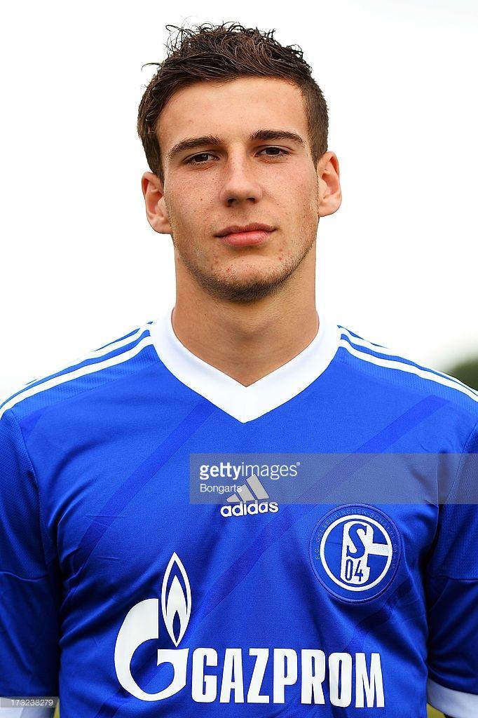Leon Goretzka poses during the FC Schalke 04 team presentation on July 10, 2013 in Gelsenkirchen, Germany.