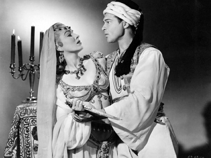 With Anthony Dexter in VALENTINO (1951). | Eleanor Parker ...