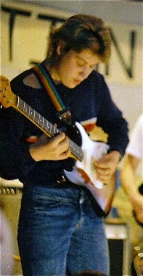 A young Jimi Goodwin at Action for Africa.