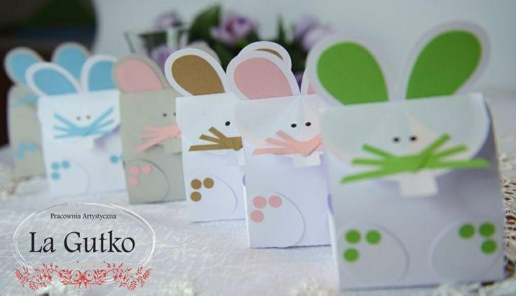 Podziękowania króliczki dla dzieci. Więcej na www.lagutko.pl