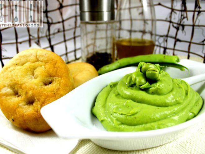 Ricetta Antipasto : Crema di fave fresche