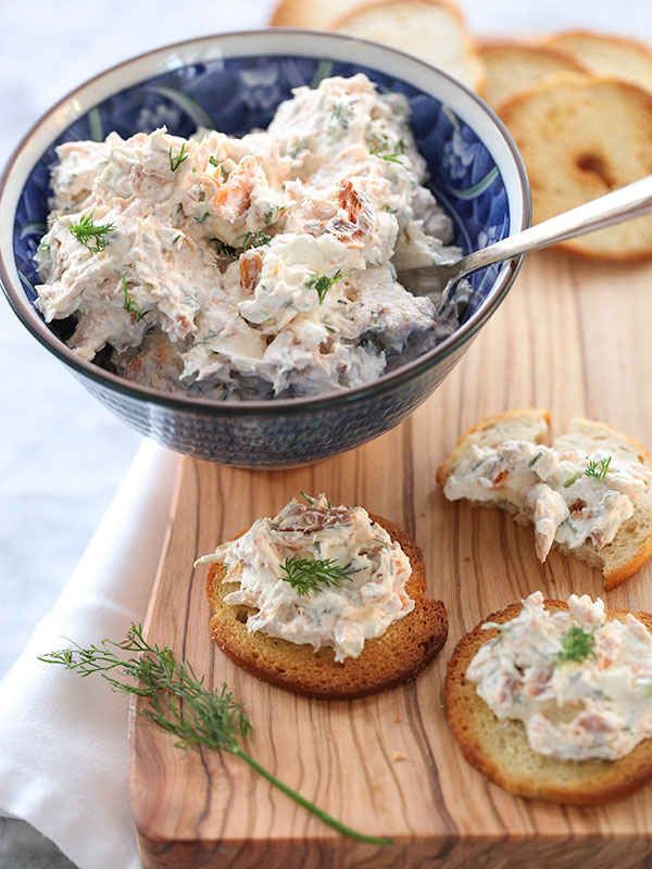 Smoked Salmon Spread | 25 Easy Party Dips You Can Make In 20 Minutes