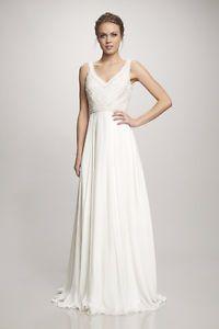 Robe de mariée THEIA NAVA. Achetée chez Christianne Brunelle