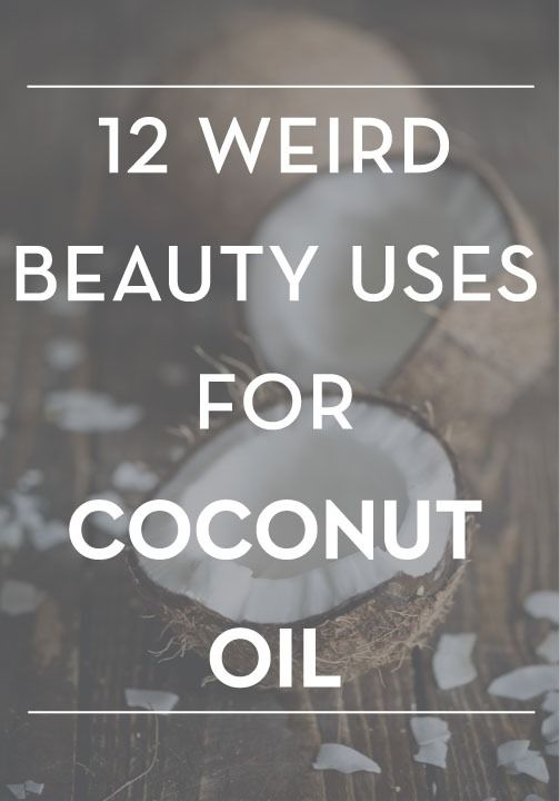 Beauty buzz: Coconut oil is amazing for all your beauty needs! Use it with your favorite beauty products.